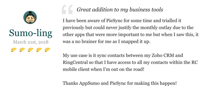 Lifetime Access to PieSync