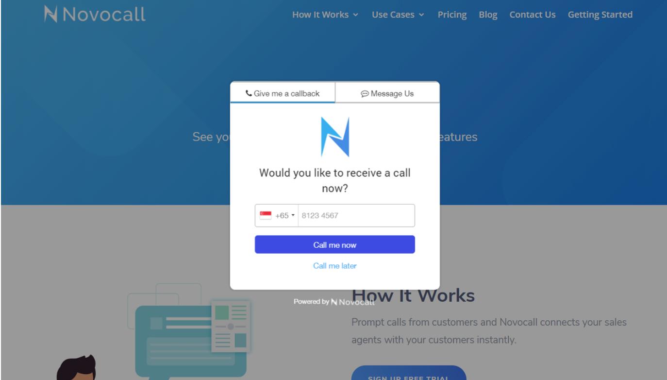 Lifetime Access to Novocall