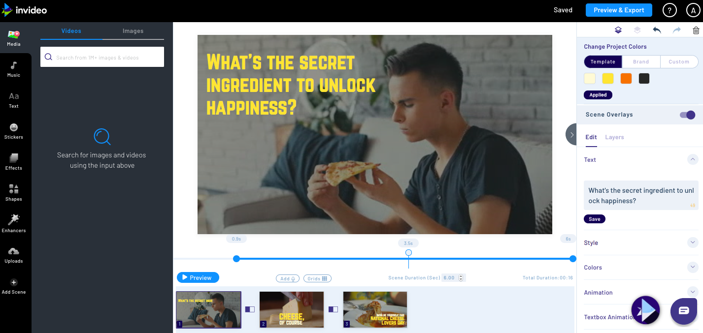 Invideo lifetime Deal | Lifetime video editing software