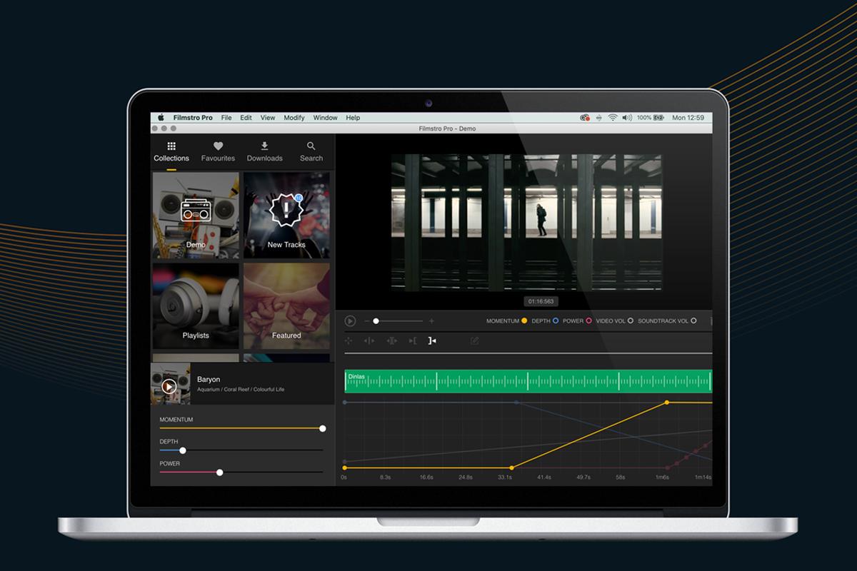 Filmstro Pro app for Mac