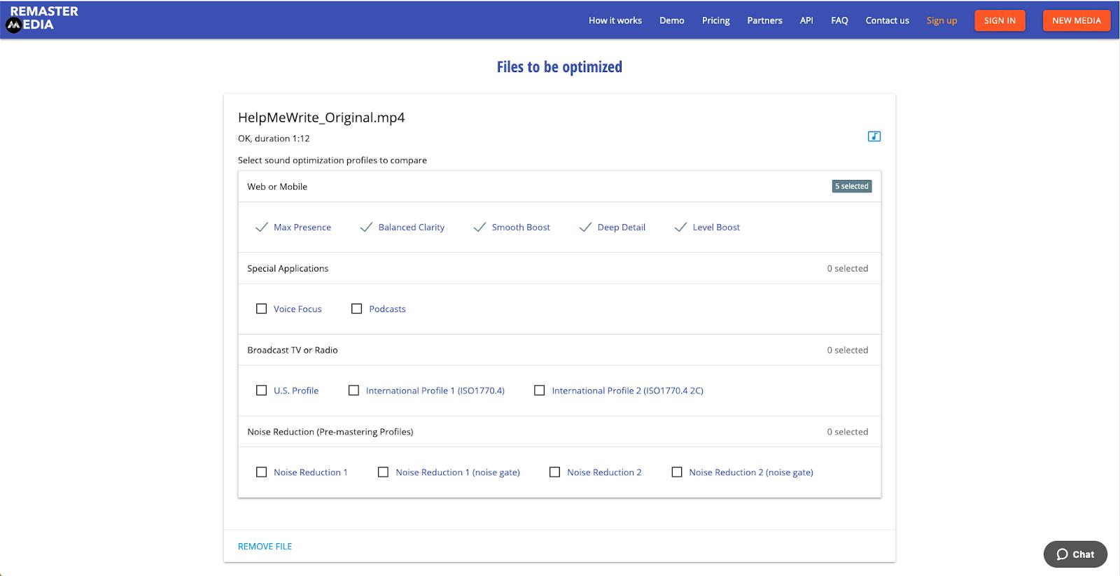 File Optimized- ReMasterMedia